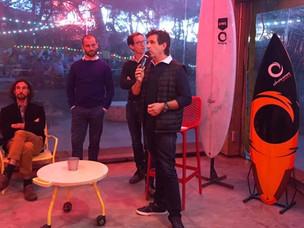 """Vidéos du Meetup """"L'innovation systémique au profit du Surf éco-responsable de demain"""""""