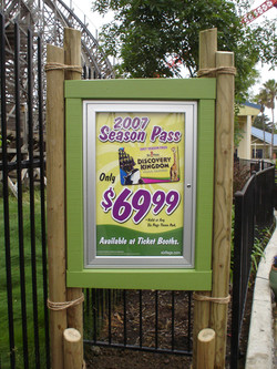 Six Flags Promotional Box Sign (1).JPG