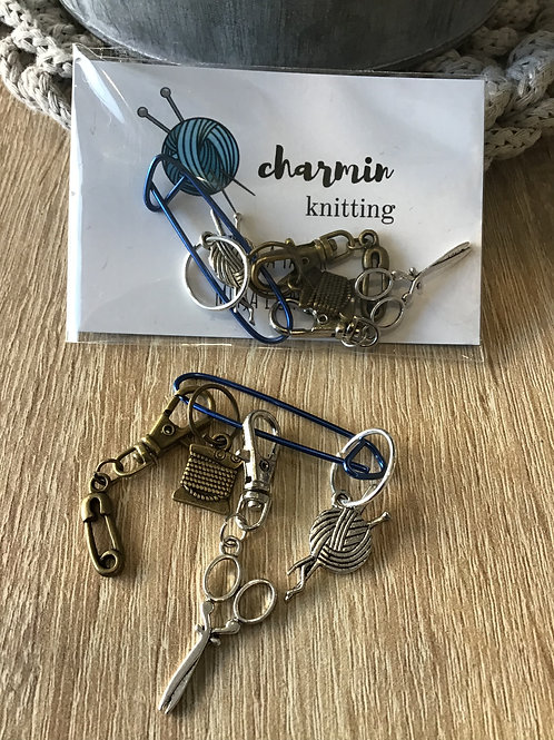 Marcadores charmin knitting