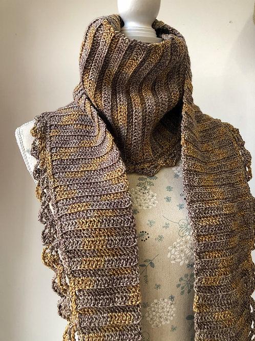 charmin bufanda a ganchillo
