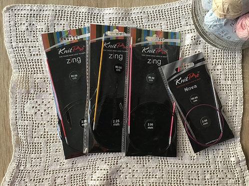 Knit Pro agujas circulares fijas