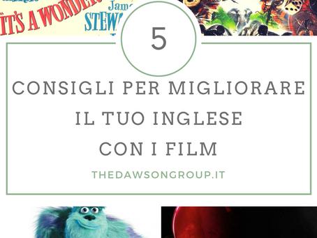 5 consigli per migliorare il tuo inglese con i  film