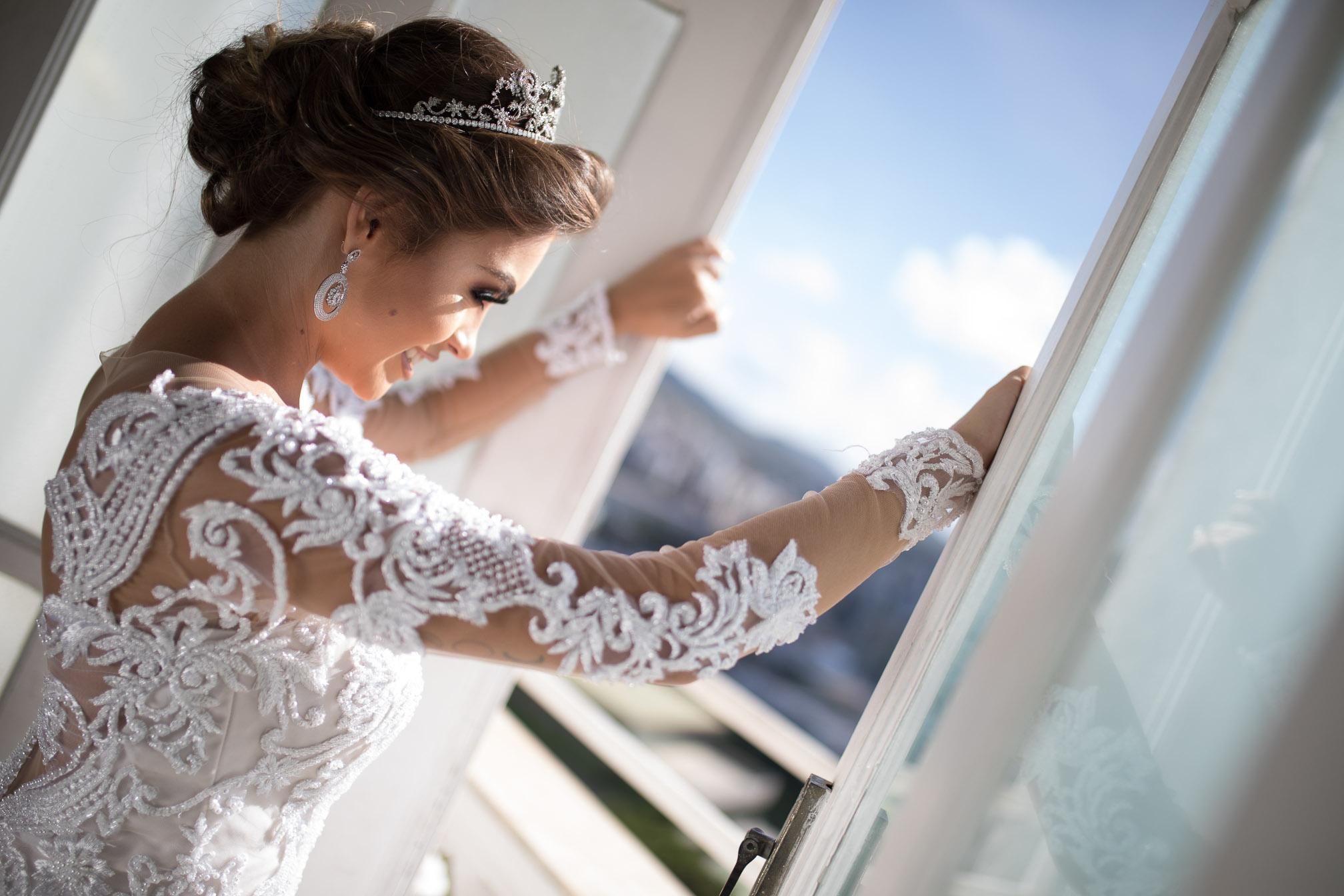 Tiaras para noivas e debutantes