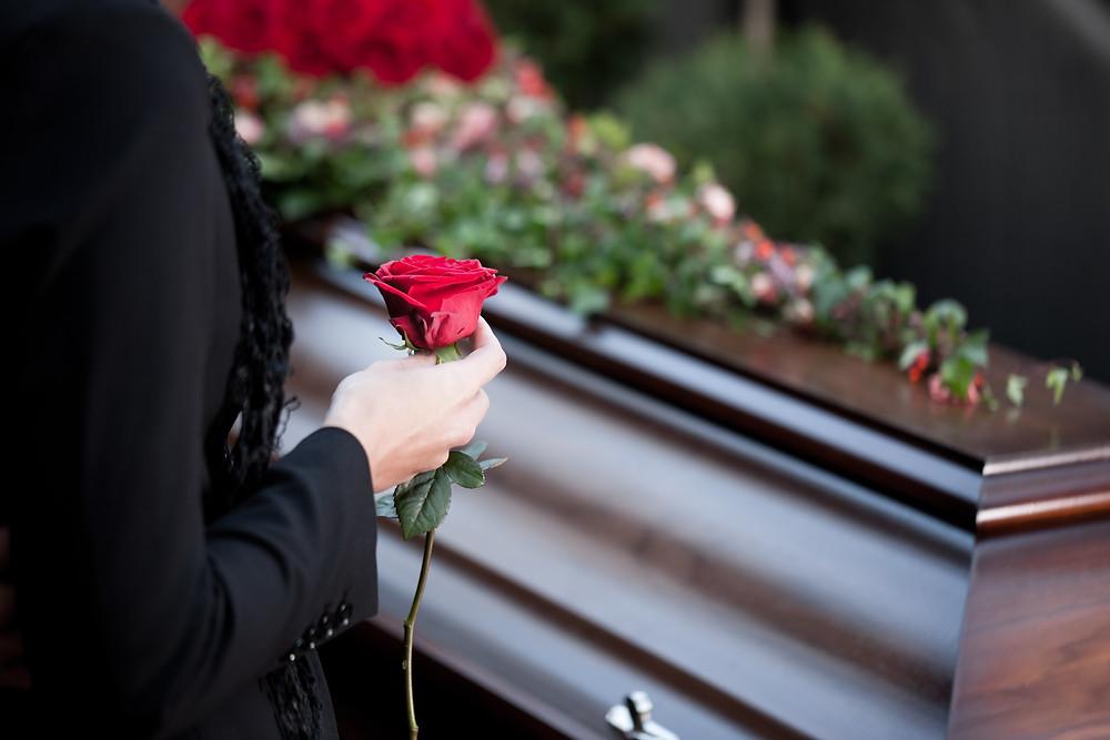Image result for coffin rose