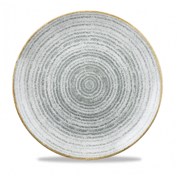 "Studio Prints Coupe Plate 11.25"", Stone Grey"