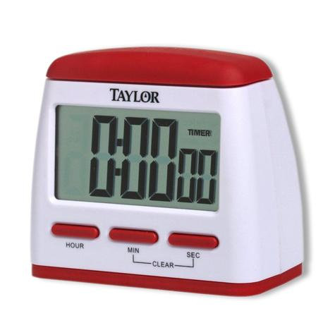Easy Button Digital Timer/Clock