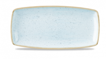 "SDES OP11 - Stonecast Oblong Plate 11-3/4""x6"", Duck Egg Blue"