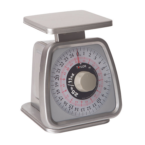 Analog Portion Control Scale with Rotating Dial