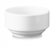 "WH ASU - Consomme Bowl 4-1/8"" 10oz White"