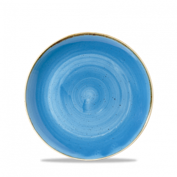 "Stonecast Small Coupe Pasta Bowl 7.25"", Cornflower Blue"