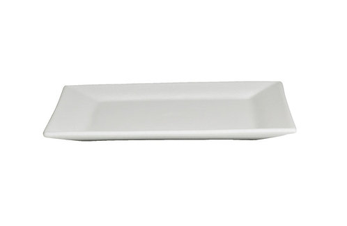 X-Large Square Platter, White