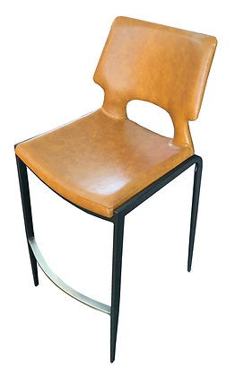 Contemporary Bar Chair with Padded Seat