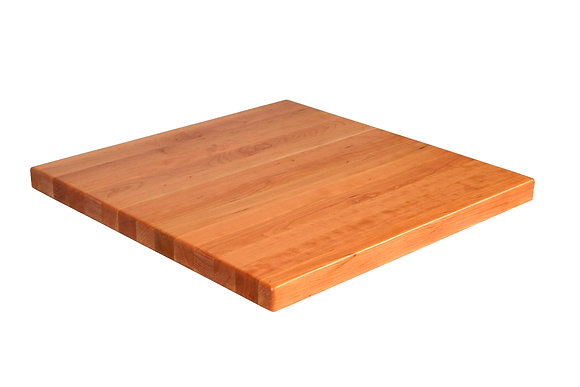 Table Top, Solid Wood, Square, Cherry
