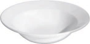 Bowl, Grapefruit/Cereal, Plain White, 8 oz., White