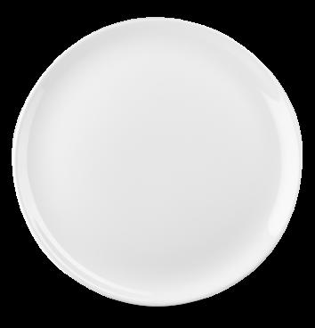 """WH EV12 - Evolve Intermediate Coupe Plate 12"""" White"""