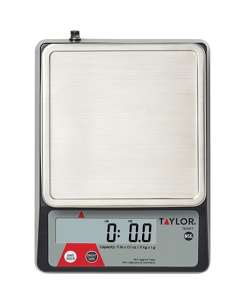 Compact Digital Portion Control Kitchen Scale, 11 lb