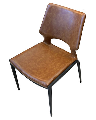 Contemporary Side Chair w/Padded Seat