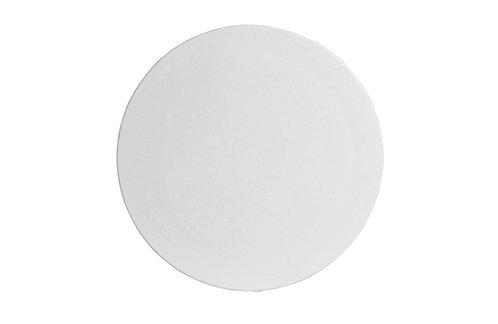 "Large Round Disc 18"", Black"