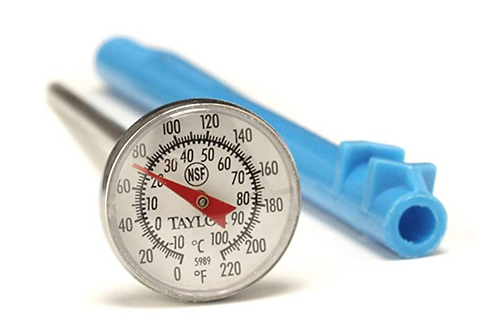 """5989NFS - 1"""" Dial Thermometer"""