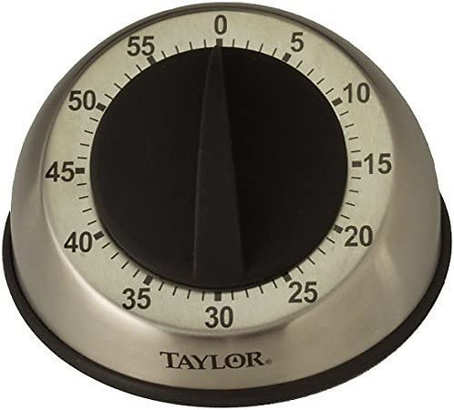 5830 - Stainless Steel 60 Minute Timer