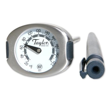 "501 - Gourmet 1.25"" Dial Thermometer, 20F to 220F"
