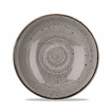 """SPGS EVB9 - Stonecast Coupe Bowl 9-3/4"""", Peppercorn Grey"""