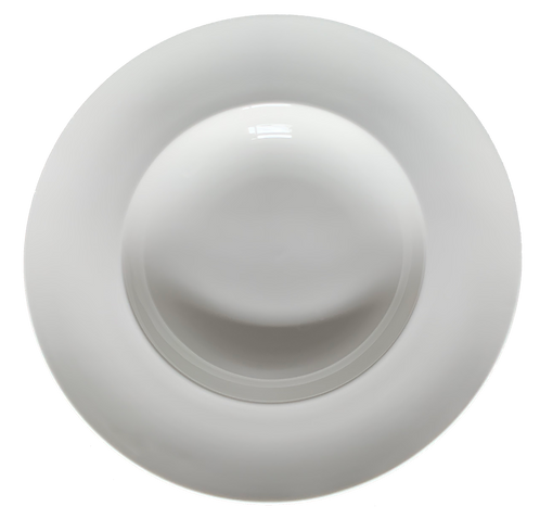 Wide Rim Bowl, White, 16oz