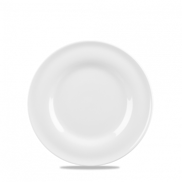 "Contempo 9"" 8oz Deep Plate White"
