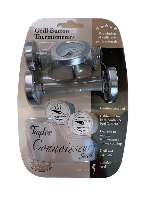 515 - Grill Button Thermometers (Poultry and Beef)