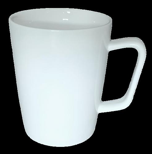 Mug, Flared, White, 10oz