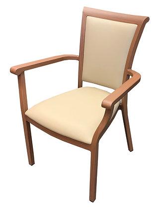 Arm Chair, Padded Seat and Back, Edinburgh