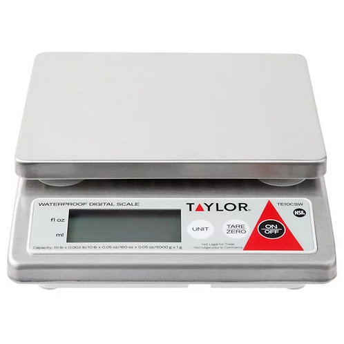 TE10CSW - 10 lb Digital Scale - Water resistant