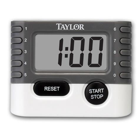 5829 - Taylor® 10 Key Digital Timer + Clock