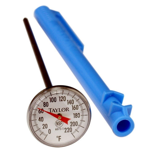 Instant Read Dial Thermometer 0/220 F