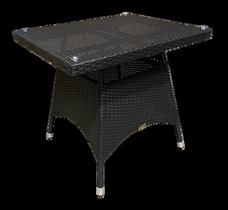 Universal Resin Wicker Table, 26 x 32