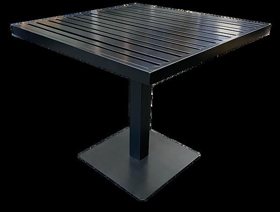Metal Slat Indoor/Outdoor Table