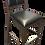 Thumbnail: Bar Chair, Padded Seat and Back