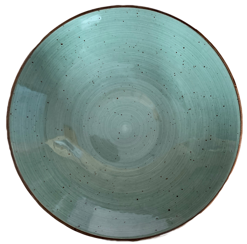 """Coupe Bowl, 9.5"""", Rustic Green"""