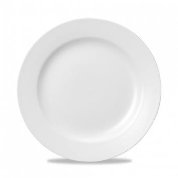 """WH CP11 - Classic Plate 11"""" White"""