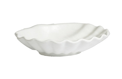 M Shell Marble, White