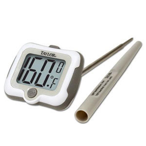9836 - Digital Thermometer with Swivel Head