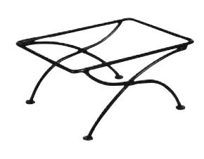 Rectangular Stand, Black