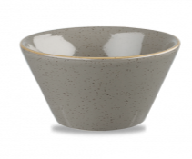 SPGS ZE12 - Stonecast Zest Bowl 12oz, Peppercorn Grey