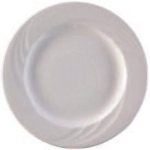 "Everest Side Plate, 6-3/4"", White"