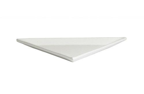 Small Triangle Platter, Black