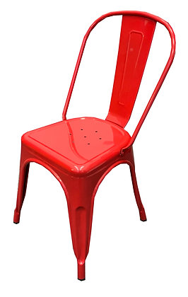 Metal Side Chair, Indoor/Outdoor
