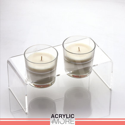 Candle holders with scented candles
