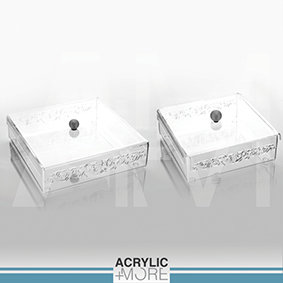 Engraved Acrylic boxes