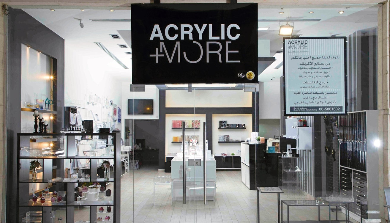 acrylic and more store