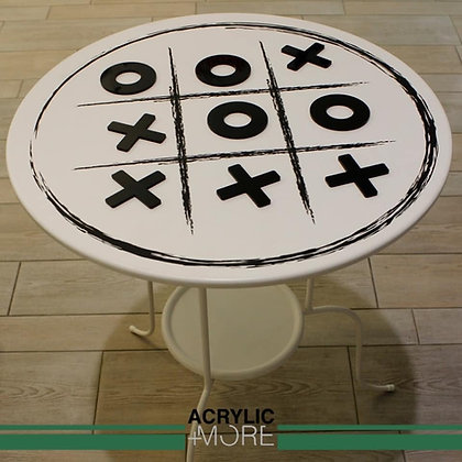 Steal table with game board